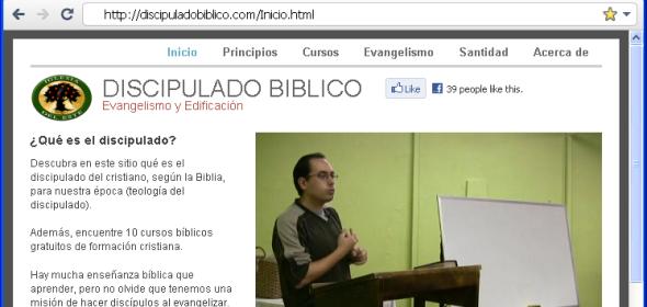 Nuevo sitio en DiscipuladoBiblico.com