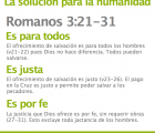 Romanos 3:21-31: Cul es, entonces, la solucin para la humanidad?