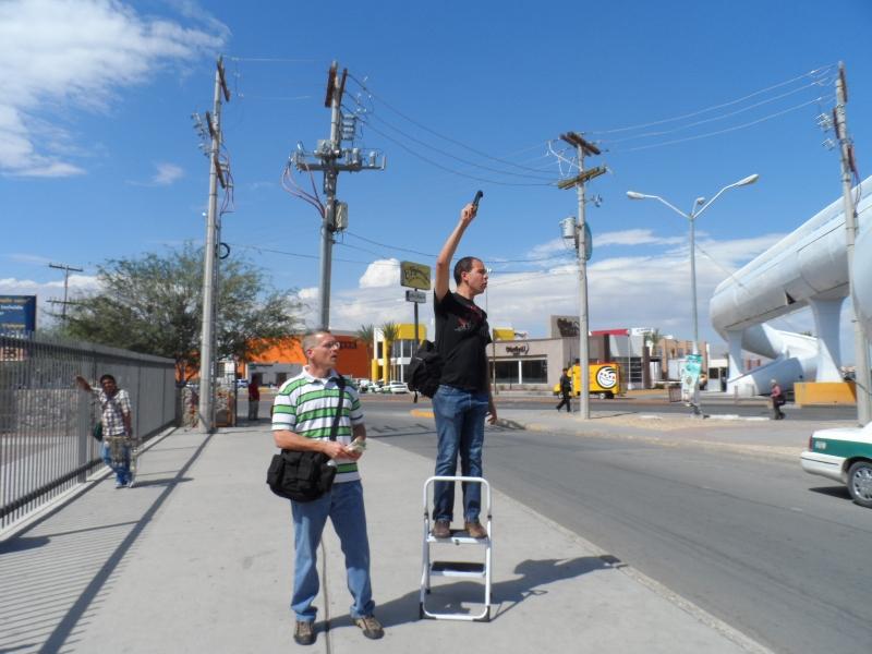 Fotos de la misión a Ciudad Juárez (Chihuahua, México)